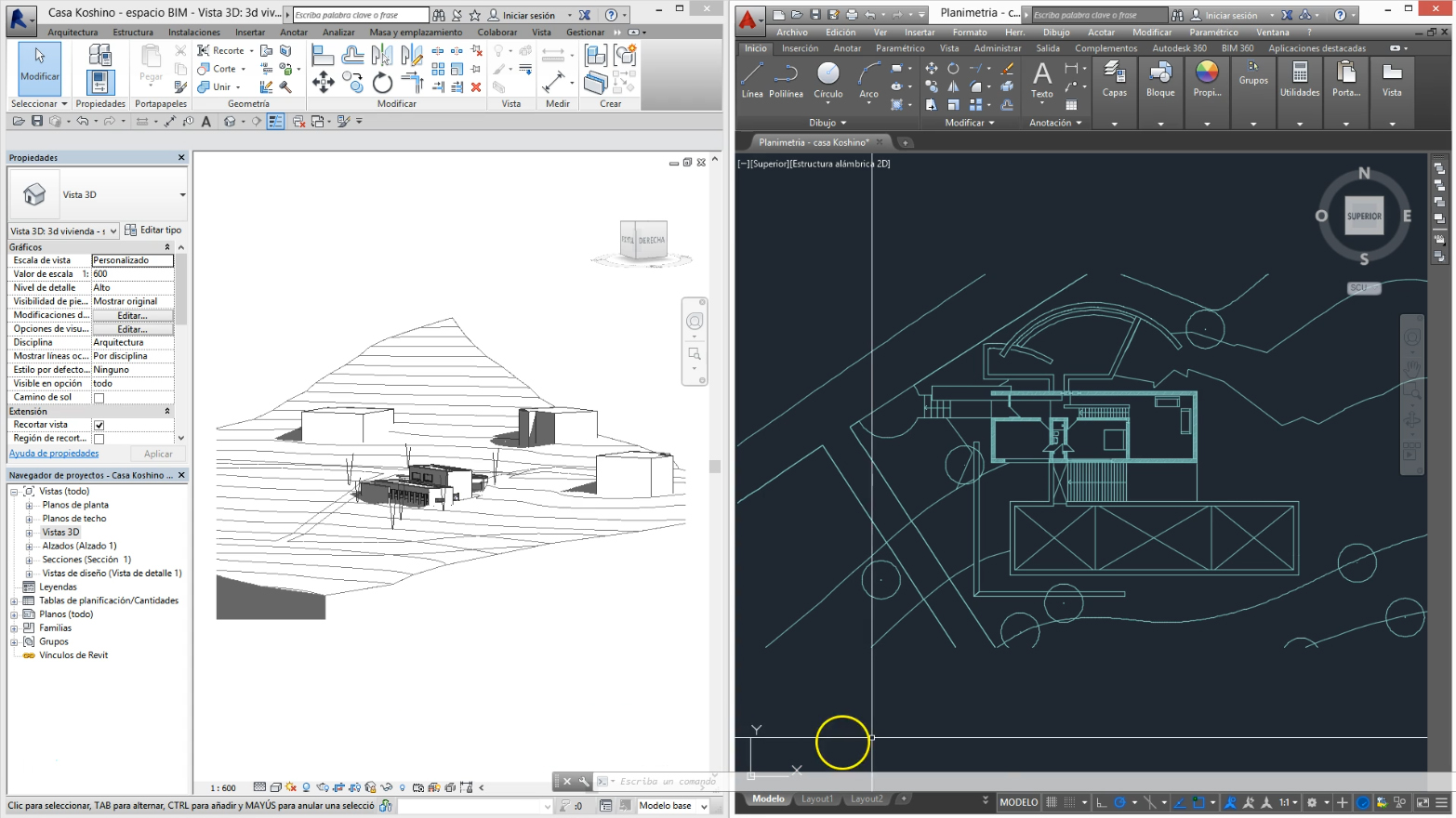 building information modeling vs cad