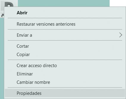Cuadro de diálogo Propiedades, para configurar el idioma de Revit 20XX