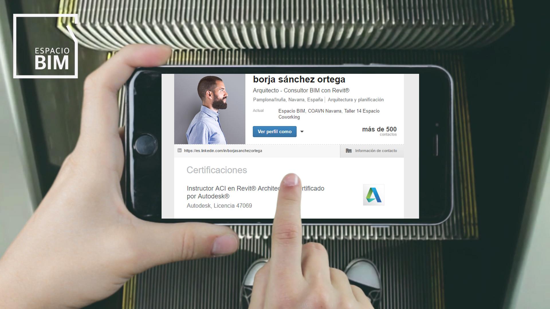 Certificacion Autodesk Revit en LinkedIn
